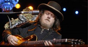Singer Zucchero from Italy performs during the Moon and Stars music festival in Locarno, Switzerland, Monday, July 9, 2007. (AP Photo/Keystone/Ti-Press, Samuel Golay)